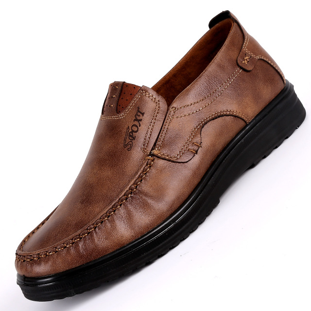 thị trường giày nam Giày Bắc Kinh cũ Giày đơn nam 2018 xuân hè Thu mới cho nam kinh doanh giày đế mề