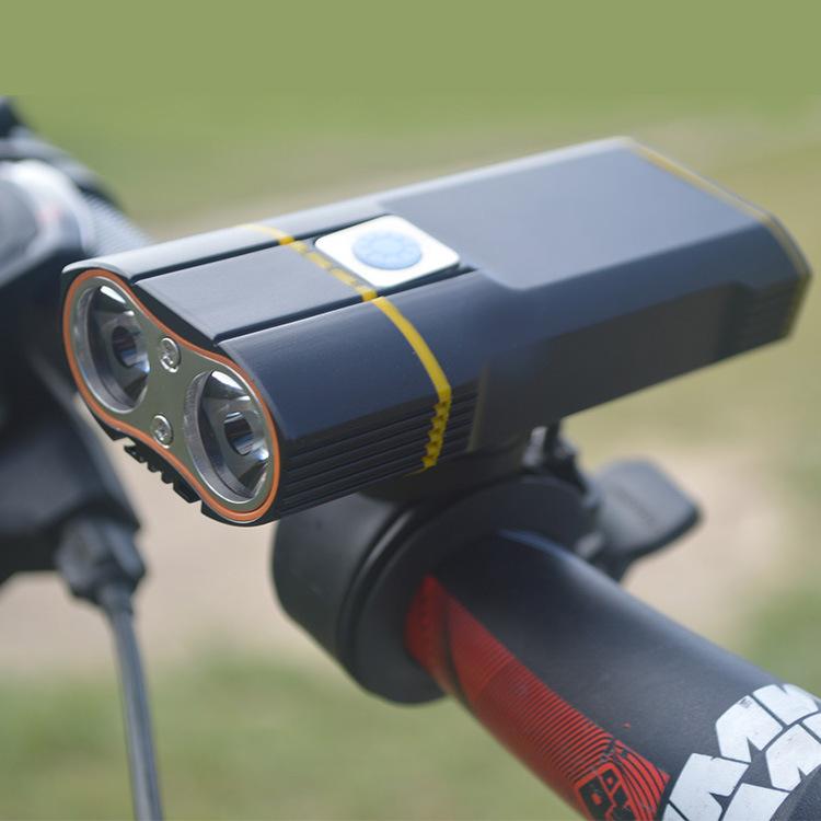 Mangel eyes - Đèn Led cho xe đạp leo núi sạc usb