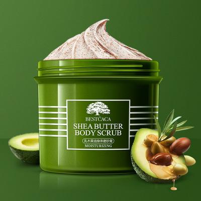 ANDORHEAL Kem tẩy tế bào chết Bestkaka Shea Butter Body Scrub 250g Walnut Shell Scrub Hạt Nourish Sh