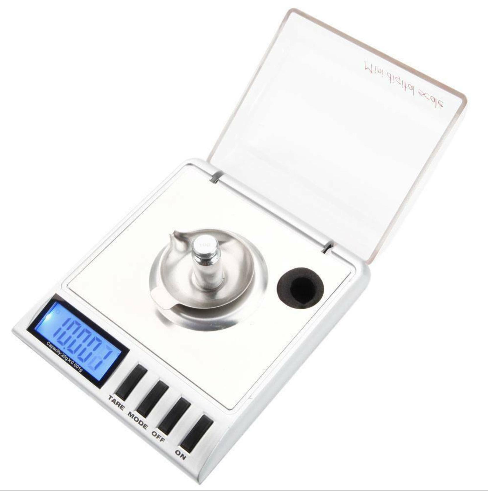 OEM Cân điện tử Cân chính xác túi trang sức cân điện tử cân bằng vàng 0,001g thuốc gọi là carat mini