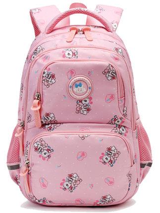 Bobdog  Cặp học sinh Hot Babu bean trẻ em túi đi học tiểu học Túi 6-12 tuổi Cô gái 1-3-6 lớp ba lô t