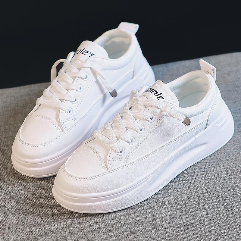 HXJZ Giày Sneaker / Giày trượt ván Giày lưới màu đỏ trắng nữ 2019 phiên bản Hàn Quốc mới của mùa thu