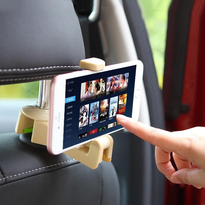 TrueFul Đồ dùng ô tô Ô tô ẩn sáng tạo chỗ ngồi mới móc lưng Xe đa chức năng phía sau hàng điện thoại