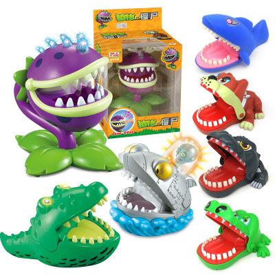khác Đồ chơi khăm Cá sấu cắn ngón tay Trò chơi giải nén Đồ chơi tricky Đồ chơi giải nén rung lắc Tay