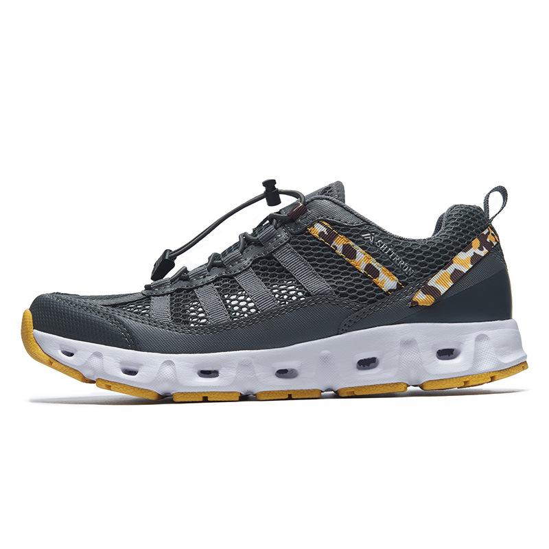 WANYONGDA Giày đi bộ Wan Yongda mùa hè mới đôi giày đi bộ đường dài ngoài trời giày đi bộ ngược dòng