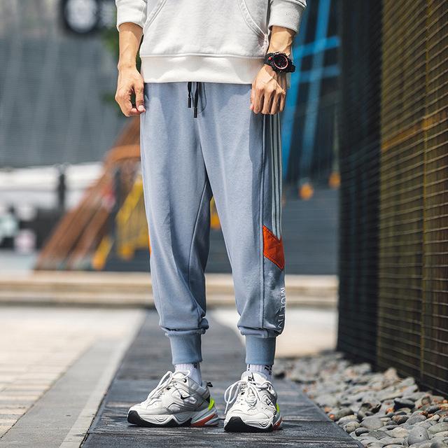 Quần Casual Túi tóc giúp mùa thu mới 2019 phiên bản Hàn Quốc của quần skinny nam mỏng thông thường t