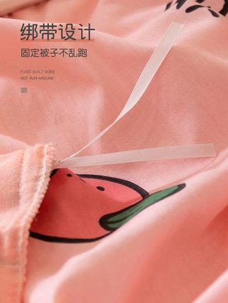 BEIJIRONG Vải Polyester Một bông B pha lê nhung nhung bốn mảnh flannel quilt tấm trải giường ba mảnh