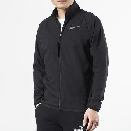 NIKE Áo khoác Áo khoác Nike nam nam 2019 xuân hè mới nam chính hãng dệt thể thao cổ áo đứng cổ áo 92