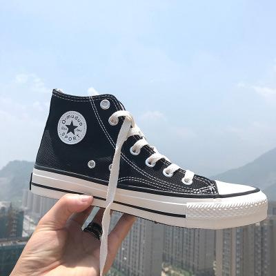 Giày Sneaker / Giày trượt ván Giày vải cao cổ nam đôi cao cổ mẫu giày hoang dã giày nữ Giày dép thập