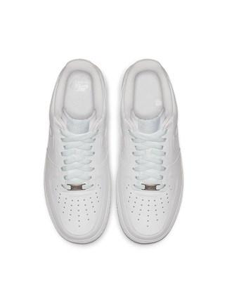 Nike Giày lười / giày mọi đế cao Nike Nike chính thức NIKE AIR FORCE 1 '07 AF1 giày thể thao nữ già