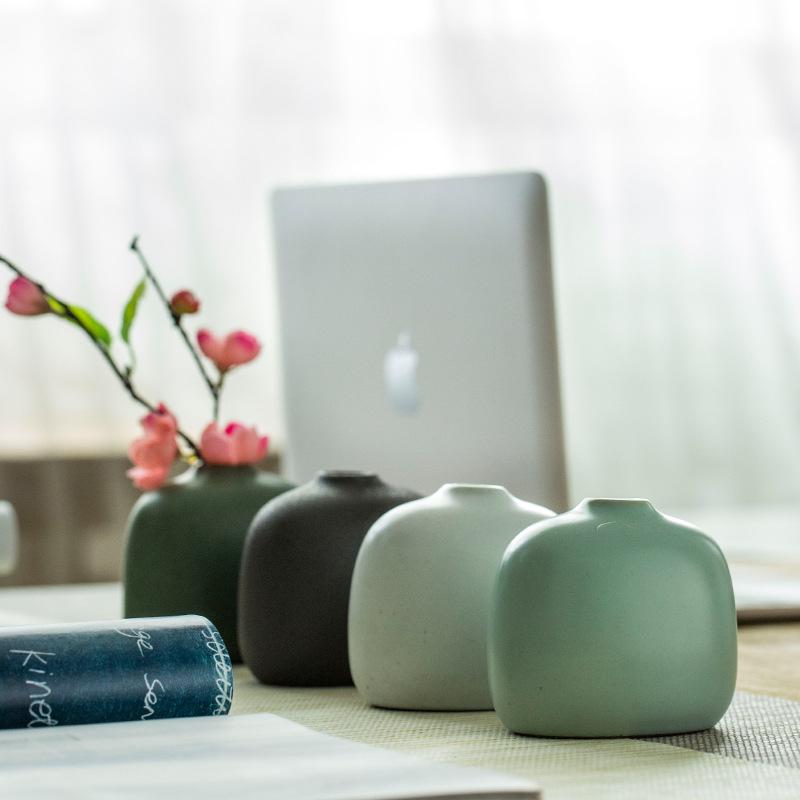 YUANZHIQI - Bình hoa trang trí bằng gốm sứ Mới .