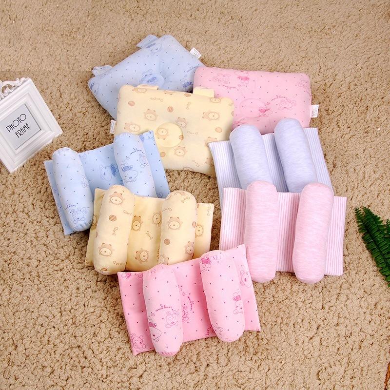 DWNB Đồ dùng sơ sinh Sản phẩm cho bé kiểu dáng gối sơ sinh chống đầu gối cho bé có thể được gia công