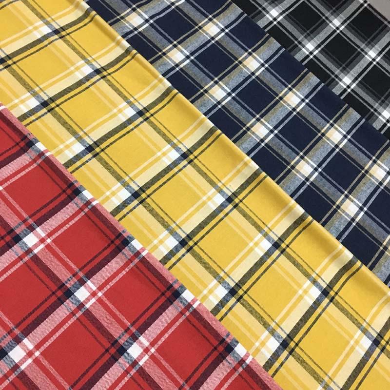 WZ Vải dệt may [Wanzhong Dệt] vải polyester-cotton sợi nhuộm vải polyester-cotton vải sợi nhuộm vải