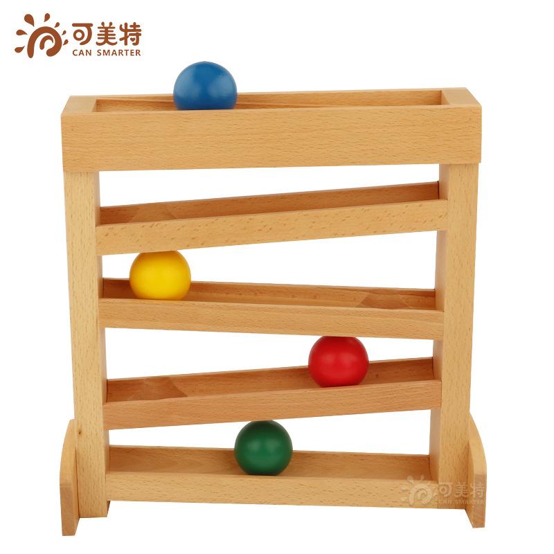 Đồ chơi dạy học theo dõi trực quan Montessori giác quan hỗ trợ trẻ sơ sinh 1-3 tuổi