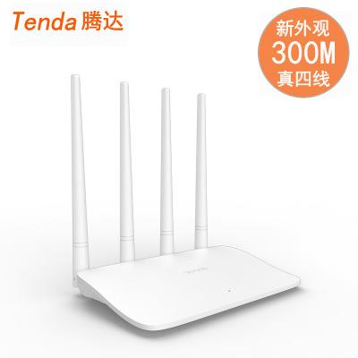 Tenda Modom Bộ định tuyến không dây Tenda F6 300M Bốn ăng ten sợi không dây gia đình WiFi thông qua