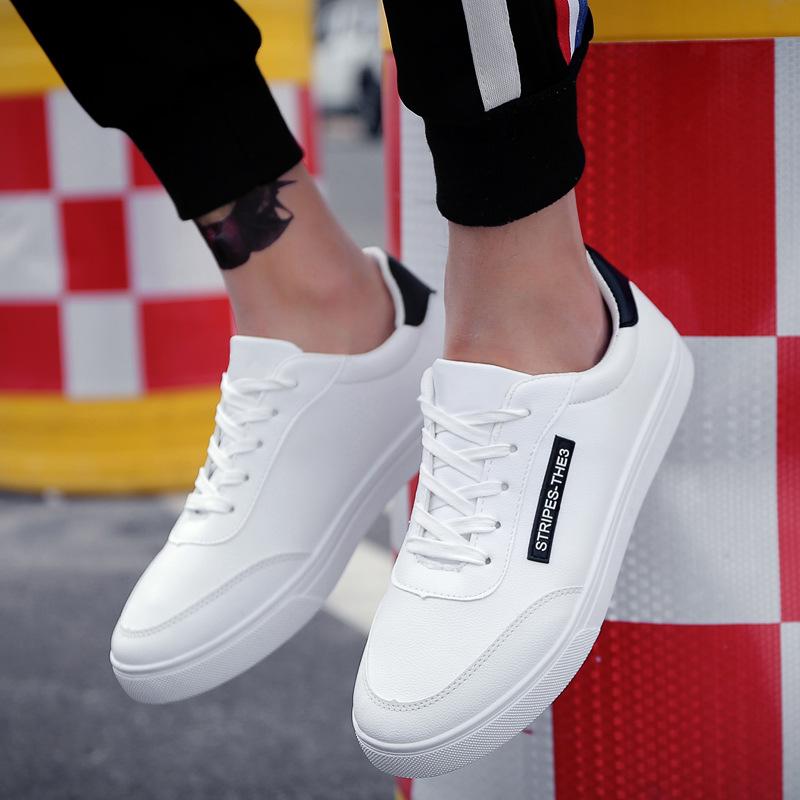 WBTC Giày Sneaker / Giày trượt ván Túi đựng tóc giúp 2019 mẫu giày mùa xuân giày trắng thoáng khí ch
