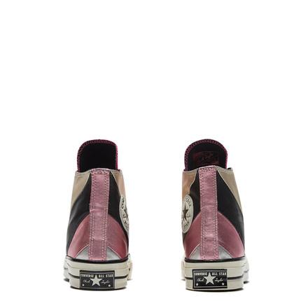 CONVERSE Giày nữ trào lưu Hot CONVERSE Giày cầu vồng ánh kim cao cấp chính thức Giày nữ cao cấp 5658