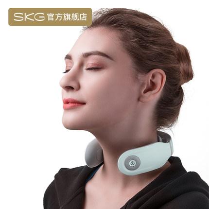SKG Máy massage  Máy mát xa cổ tử cung SKG Máy mát xa cổ đa năng Rung cổ thông minh Gói nóng 4335