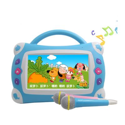 Máy học ngoại ngữ Trẻ em 7 inch video câu chuyện máy đa chức năng máy búp bê giáo dục sớm máy học má