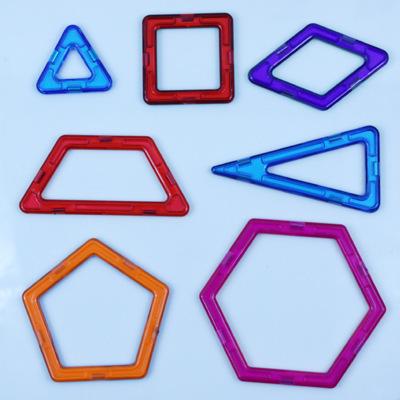 Bộ đồ chơi lắp ráp xây dựng từ khối miếng vá nam châm .