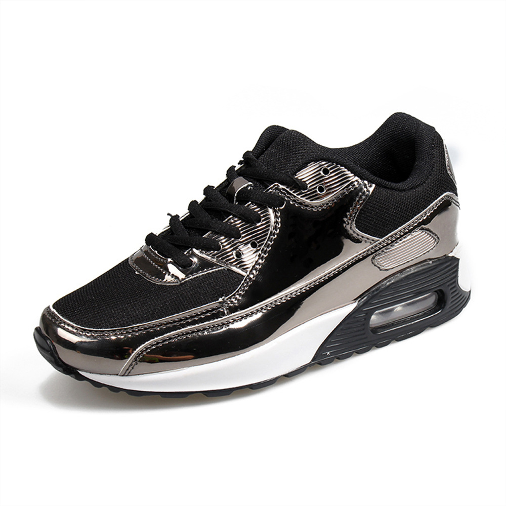 Giày lưới Mùa xuân và mùa hè bùng nổ thời trang đệm không khí giày thể thao lưới thoáng khí giày nam