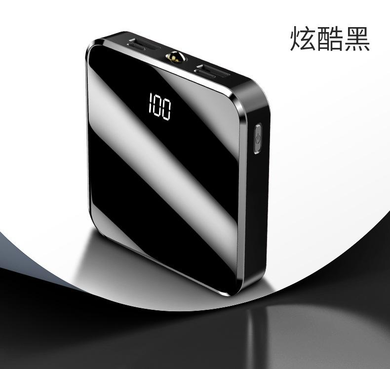 OEM Pin sạc dự bị Điện thoại di động mini mới sạc kho báu 20000 mAh hiển thị kỹ thuật số cầm tay nhỏ