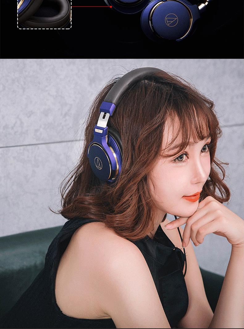 Tai nghe Audio Technica ATH-MSR7SE Khử tiếng ồn Tai nghe Hifi Điều khiển từ xa bằng điện thoại