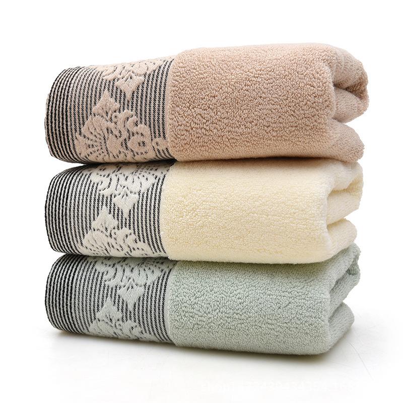LANNI Khăn lông Khăn bông bán chạy nhất Châu Âu mềm mại dành cho người lớn đôi mặt khăn siêu thị quà