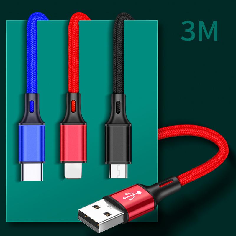 PHIYOO Dây USB Cáp dữ liệu điện thoại di động 2m USB usb sạc nhanh USB mở rộng cho cáp sạc Apple And