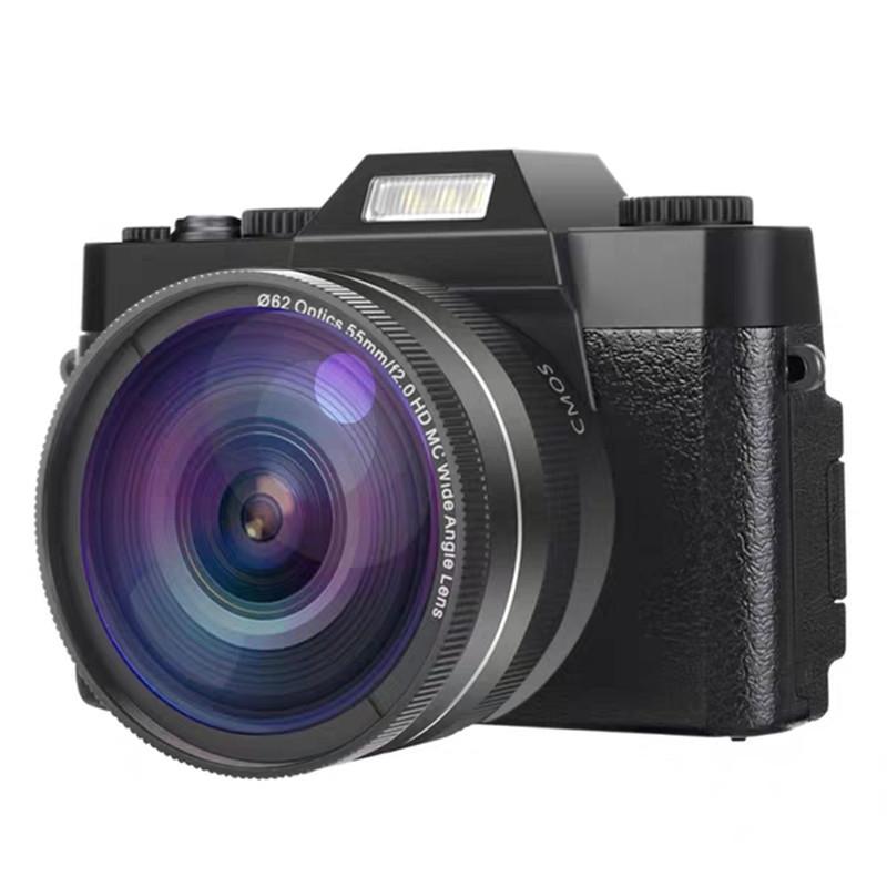 KOMERY Máy ảnh phản xạ ống kính đơn / Máy ảnh SLR Máy quay video kỹ thuật số 30 triệu HD Máy ảnh kỹ
