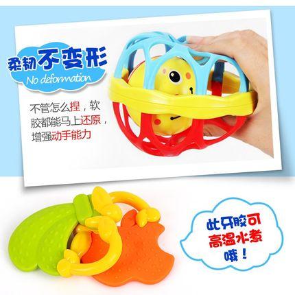 Đồ chơi bằng nhựa bộ chuông nhiều kiểu cho bé .