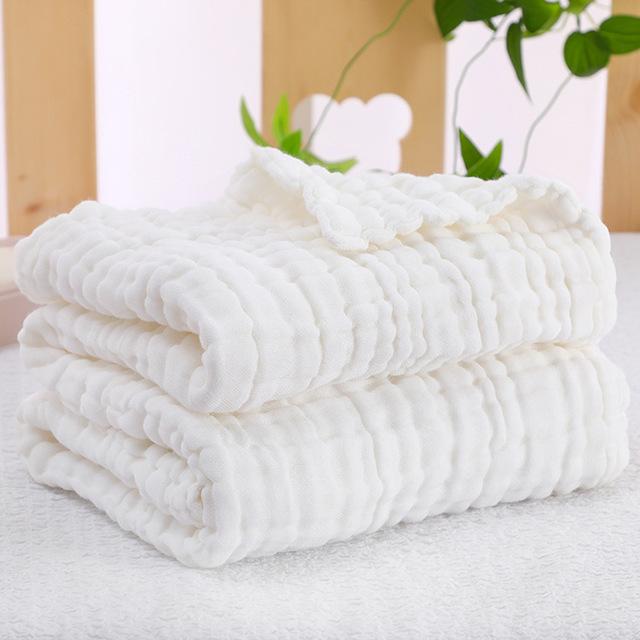 RUIBAOCONG Túi kẹp tóc 6 lớp bông gạc cho bé tắm mùa thu và mùa đông chăn trẻ sơ sinh chăn bông bán