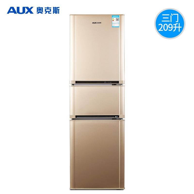 Tủ lạnh dung tích 209L / L ba cửa tiết kiệm năng lượng