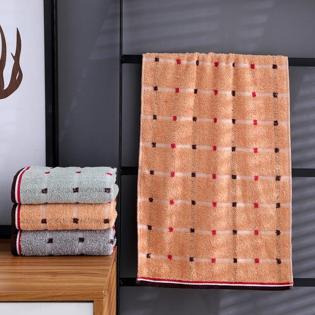YUQIAO Khăn lông Khăn bông bảo hiểm lao động dày 105 g hàng ngày cần thiết khăn mặt quảng cáo quà tặ