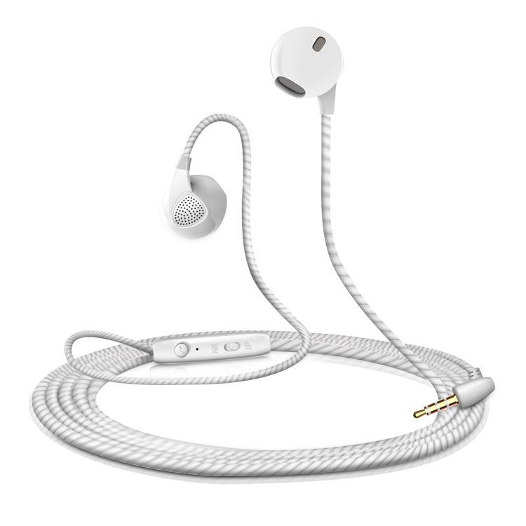Tai nghe điện thoại di động theo liên kết này sử dụng dây TPE chất lượng cao để linh hoạt tốt
