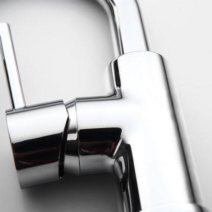 JOMOO  Vòi nước  JOMOO chín chậu rửa động vật vòi chậu nước nóng và lạnh có thể xoay vòi chậu rửa