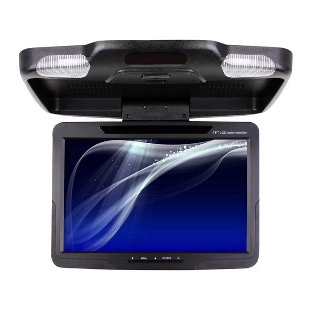 GUOLONGJIANG Radar cảm biến lùi xe 11 inch Đảo ngược Radar HD Xe điện tử Giám sát xe hơi Hiển thị Đi