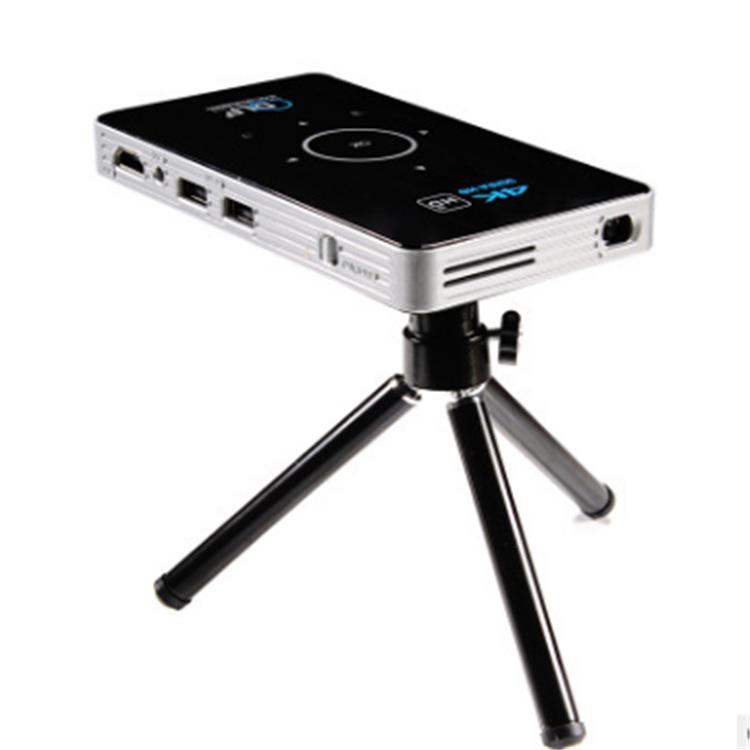 OEM Máy chiếu New C6 Android Smart DLP HD Mini Máy tính xách tay Điện thoại Máy chiếu Máy chiếu
