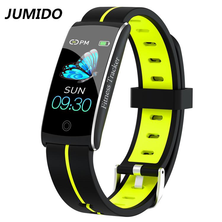 JUMIDO F10C xuyên biên giới Yahoo Vòng đeo tay thông minh Nhịp tim Tập thể dục huyết áp Vòng đeo tay