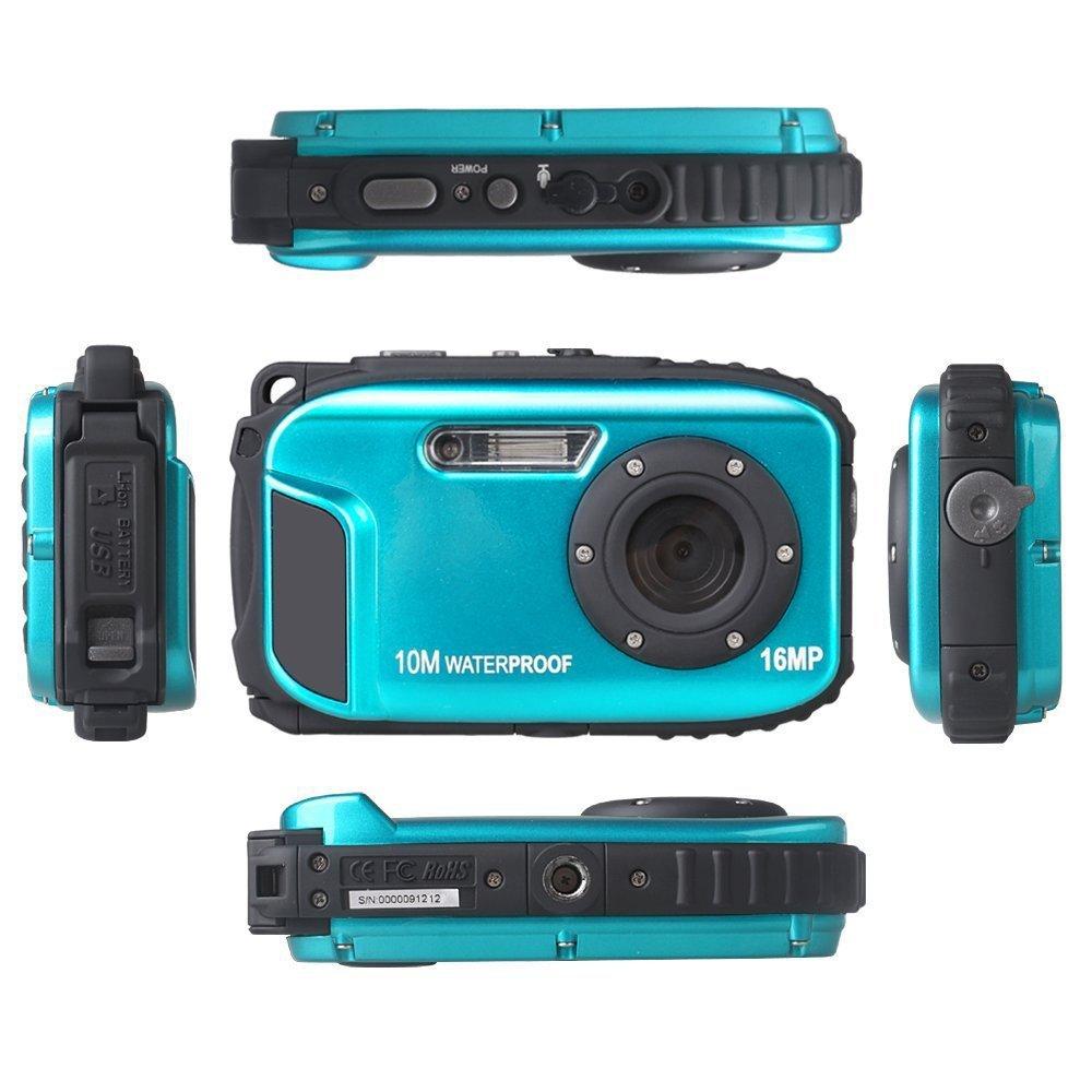 VIVIKAI Máy ảnh kỹ thuật số Camera chống cháy nổ 10 mét