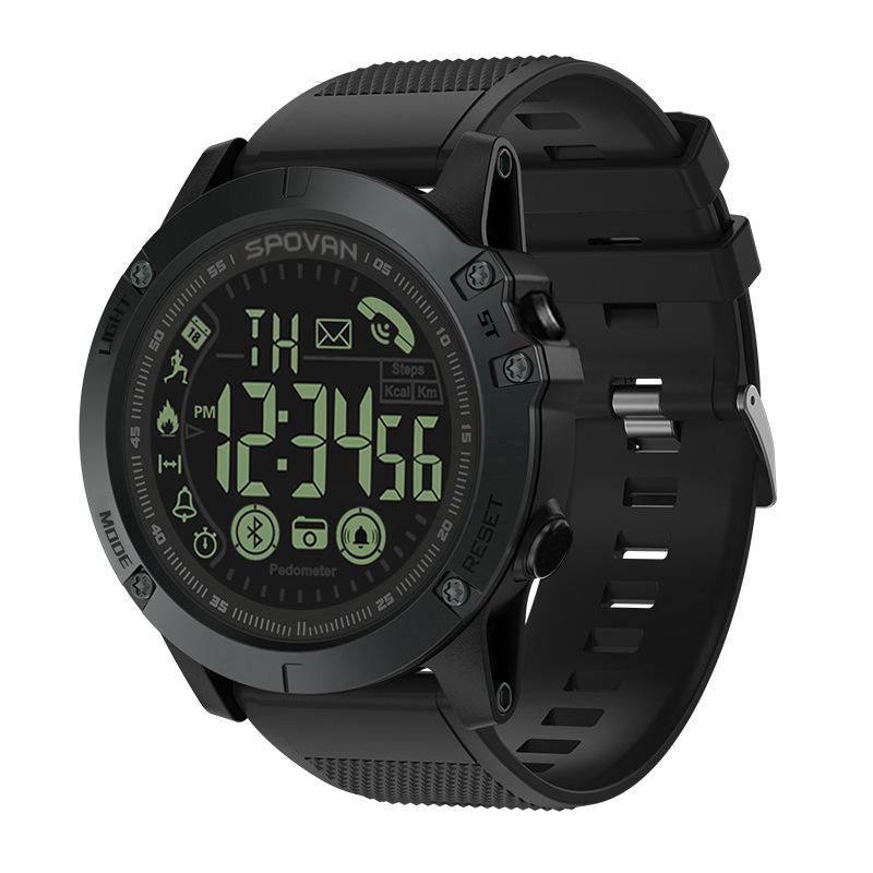 Spovan Đồng hồ thông minh PR1 siêu chờ chế độ chờ xuyên biên giới mô hình IP68 pedometer thể thao Nh