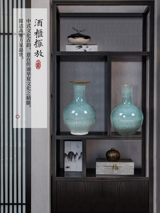Đồ trang trí bình hoa bằng gốm sứ - Jingdezhen