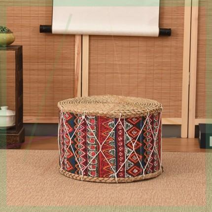 yimu Bàn trà  Flax rơm bàn cà phê nhà ngải cứu đệm cushion gia đình vải ghế đệm sức khỏe