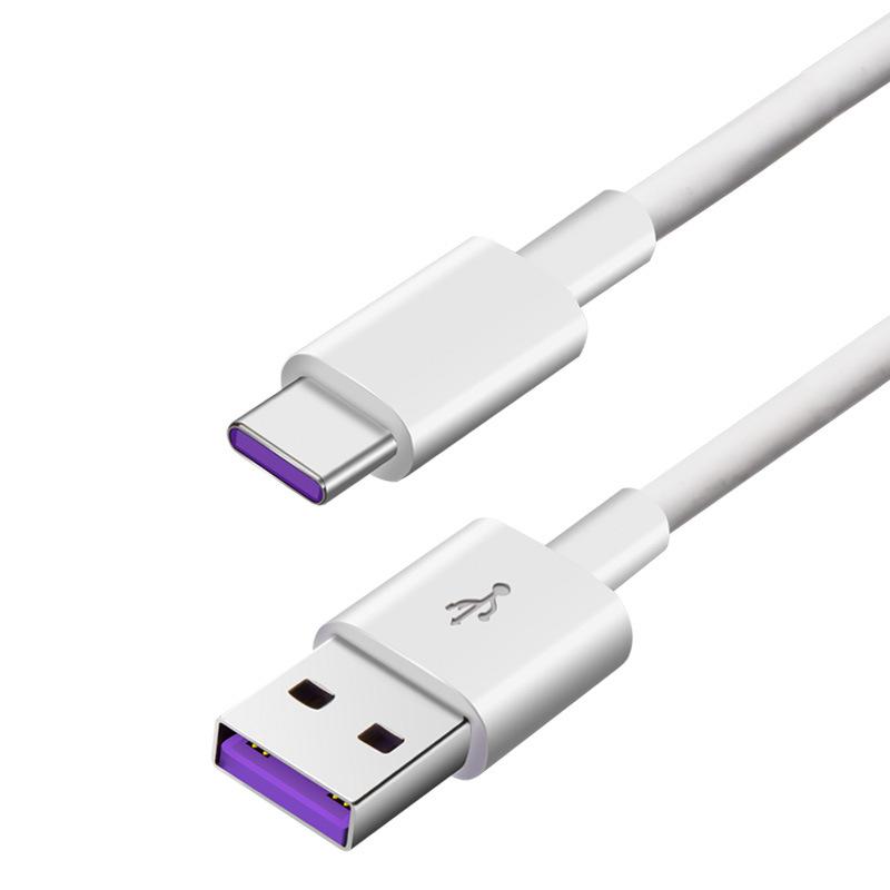 HAOHAO Dây USB Cáp dữ liệu type-c Cáp dữ liệu sạc siêu tốc Huawei Cáp dữ liệu 5a Cáp sạc LeTV