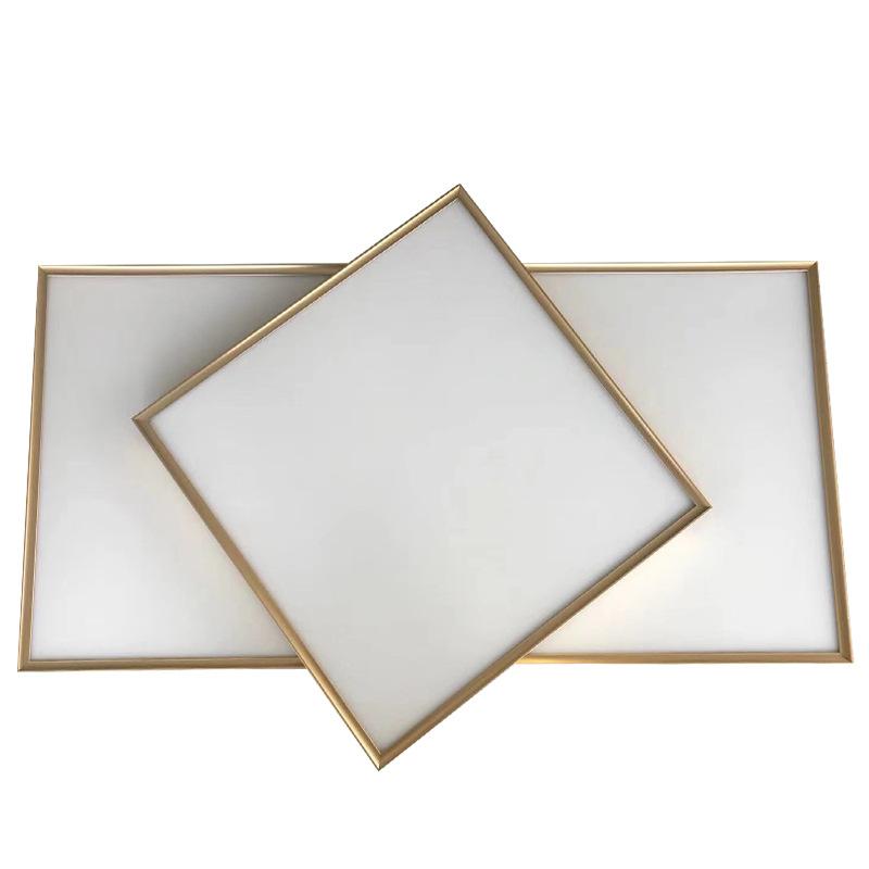 Si Kexin La phong trần nhà Tích hợp LED trần cạnh mỏng Độ sáng cao Bảng điều khiển LED Ánh sáng vuôn