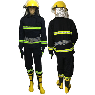SUXING Trang phục chống cháy 02 Bộ đồ phòng cháy chữa cháy chữa cháy Bộ đồ bảo vệ phòng cháy chữa ch