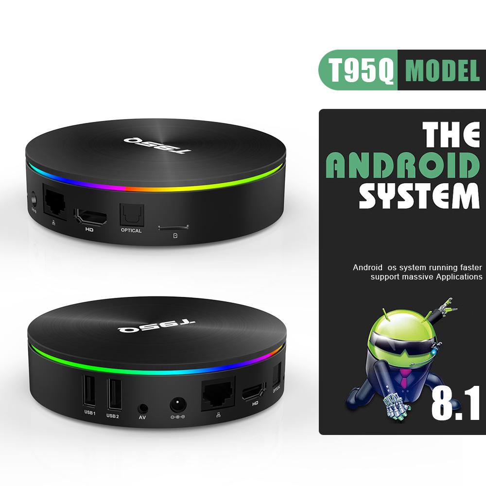 Thiết bị kết nối Internet cho TV T95Q S905X2 Android 8.1 Thông minh mới STB 4/64 TV Box Trình phát m