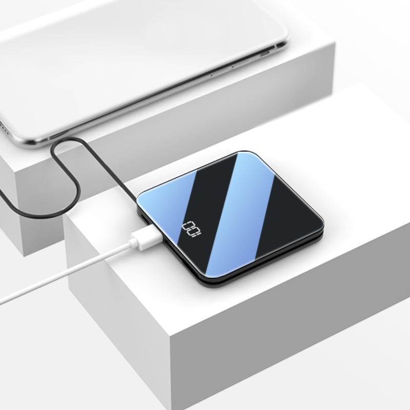 MEIZHICHENG Pin sạc dự bị Kho báu sạc mới 20000mah dung lượng lớn điện thoại di động mini không dây