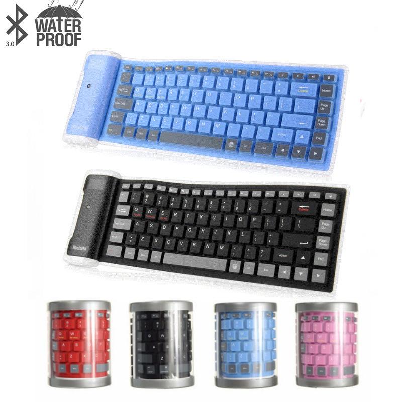OEM Bàn phím Điện thoại máy tính bảng ipad ISO Android không dây phổ quát Bàn phím Bluetooth chống n