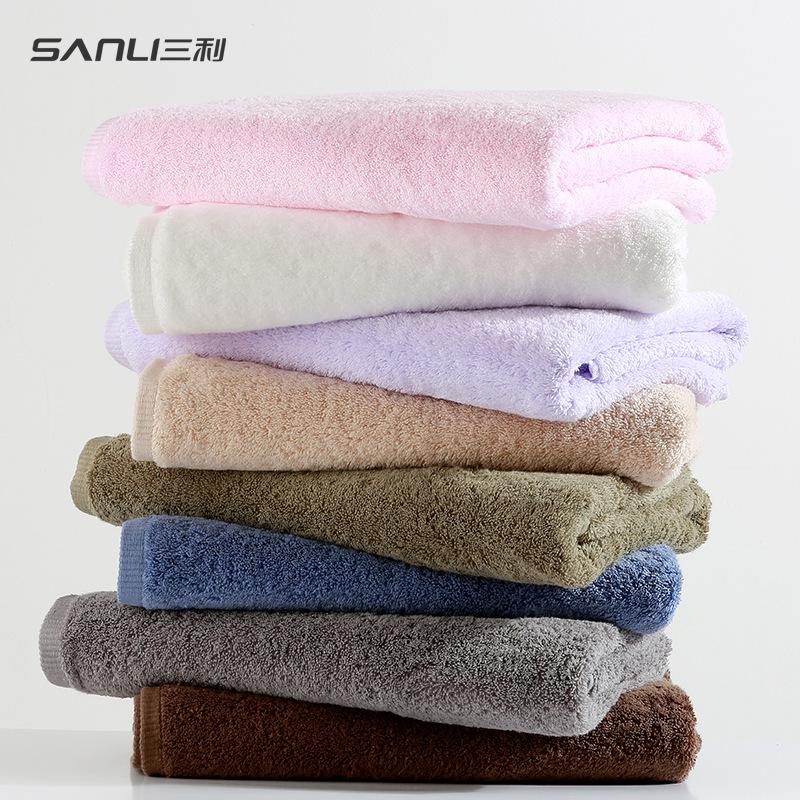 SANLI Khăn tắm Băng đô túi tóc Ba tùy chọn rộng rãi Khăn Sanli tuyển dụng và phân phối bông dài chủ